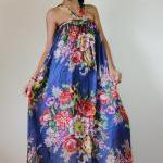 Floral Maxi Dress Party Bri..