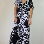 Black and white dress Kimon..
