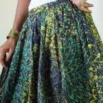 Peacock Maxi Skirt : Feel G..