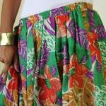 Floral Maxi Skirt : Feel Go..