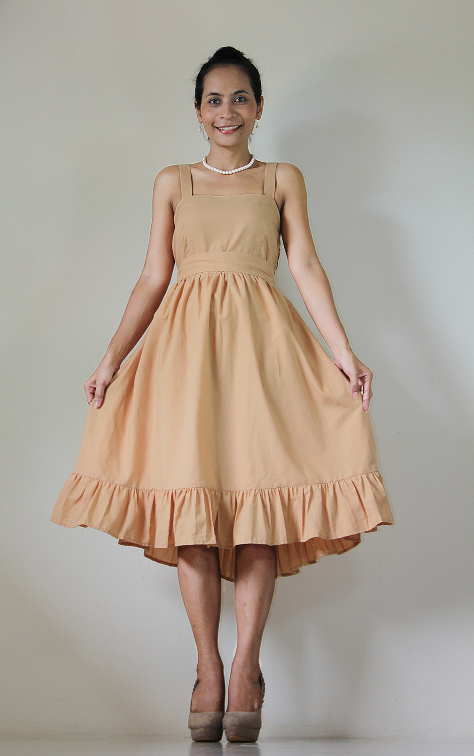 Light Brown Bridesmaid Dresses 63
