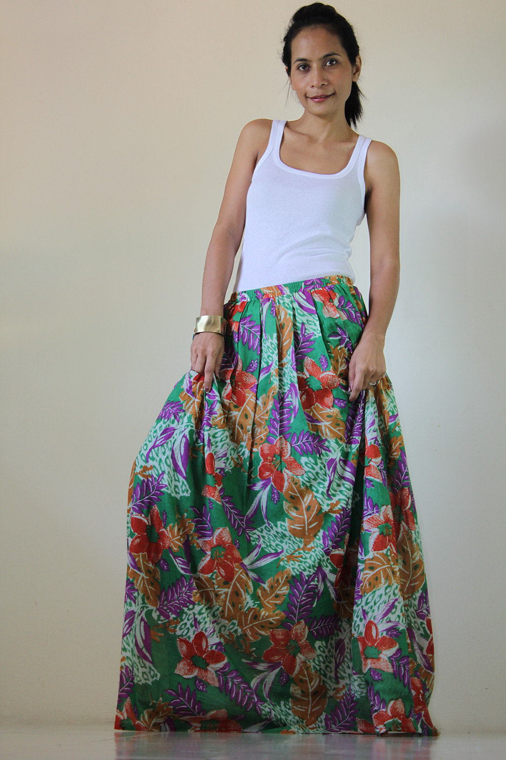 Floral Maxi Skirt : Feel Good Collection II on Luulla