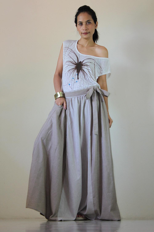 Denim Maxi Skirt : Urban Chic Collection on Luulla