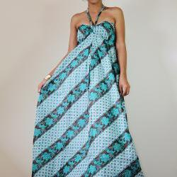 Strapless Maxi Dress Sexy Spring and Summer Gown : Cutie & Sexy Collection